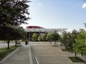 Winspear Opera House from the Wyly Theater
