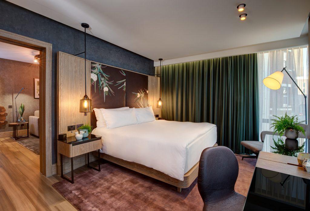 Hilton Bankside Hotel Vegan Suite